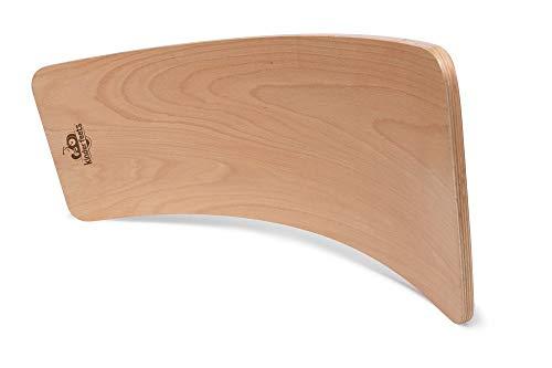 Kinderfeets Wooden Balance Board Waldorf Kinderboard - Children's Balance Toy | Wobble, Spin, Rock, Slide (Natural)