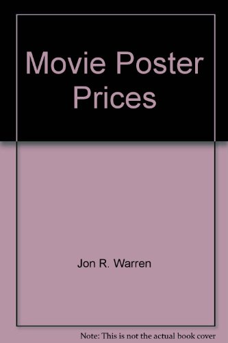 Movie Poster Prices