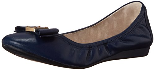 Cole Haan Women's Tali Bow Ballet Flat, Blazer Blue, 10 B - Cole Bow