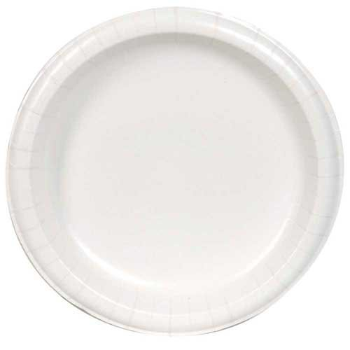 Dixie Ultra 10.125 inch Heavy Weight Paper Plate White -- 500 per case.