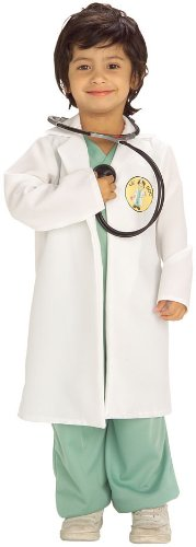 [Lil' Doc Costume: Toddler's Size 2-4] (Doctor Costumes For Toddlers)