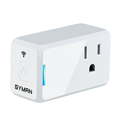 GYMAN Wi-Fi Smart Plug Mini No Hub Required Works with Amazo