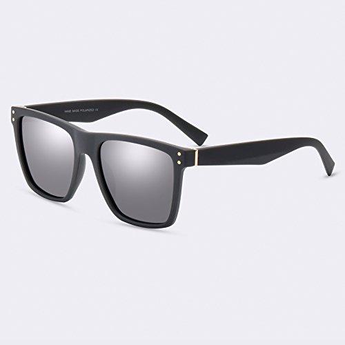 de gafas gafas C03Espejo moda lentes Vintage C03Mirror masculina de Gafas sol TIANLIANG04 polarizadas hombres pUxn0E
