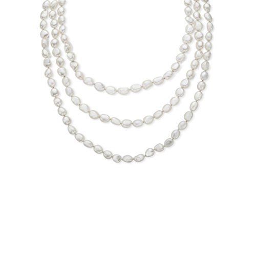 Honora Baroque 80-inch 8-9mm Freshwater Cultured Pearl Rope Strand Necklace - Honora Baroque Cultured Pearl