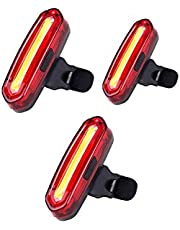 LED Fahrradbeleuchtung Fahrradlicht, Nourich Wasserdicht 6 Modi Fahrradleuchte Fahrradbeleuchtung, Fahrradlampe Fahrradlicht, Rücklicht, Aufladbare Fahrradlichter Für Camping Angeln Warnlicht
