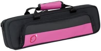 Ortola 8420 FSH - Estuche flauta travesera, color negro y fucsia: Amazon.es: Instrumentos musicales