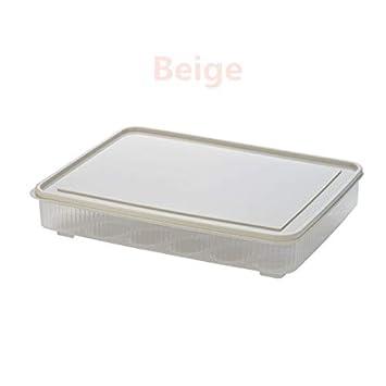 Amazon.com: Caja de almacenamiento para huevos de cocina con ...