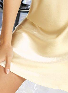 Irall - Chemise de nuit -  Femme Jaune Citron