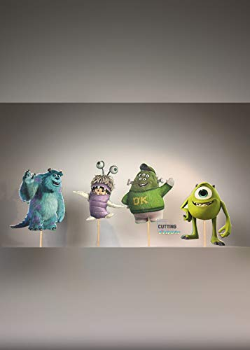 Monsters Inc. Cupcake Topper Party Decor ()