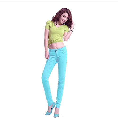 Estivi Con Rxf Pantaloni Jeans Slim Donna Fianchi Da Sottili zApaqxA