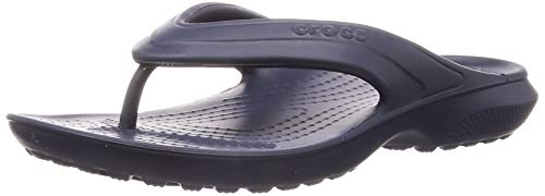 crocs Classic K Flip Flop, Navy, 8 M US Toddler