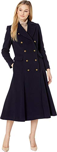 LAUREN RALPH LAUREN Military Maxi Coat Regal Navy 14