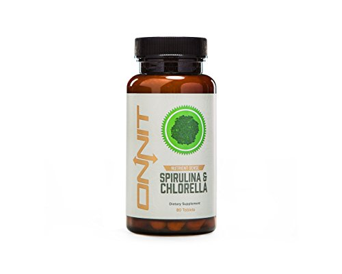 Onnit Labs Spirulina and Chlorella Super Greens for Super Humans 80 Count