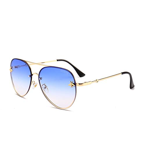 Gafas moda 140 de sol NIFG versátiles sol gafas 60 personalidad A abeja de de mm de 142 AdUxw1q
