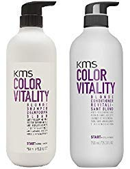KMS Vitality BLONDE Shampoo Conditioner