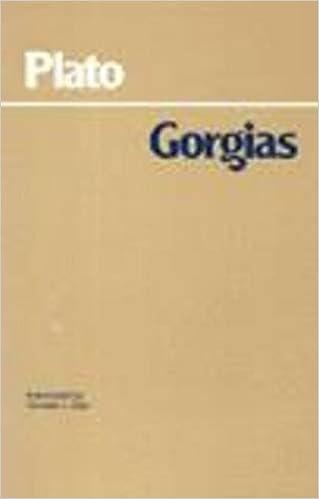 Gorgias Sparknotes Pdf