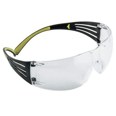 3M SecureFit Protective Eyewear, 400-Series, SF401AF, CLEAR Anti-fog lens (Case of 20)