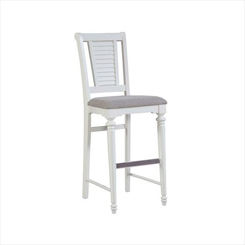 Broyhill Seabrooke Upholstered Seat Bar Stool