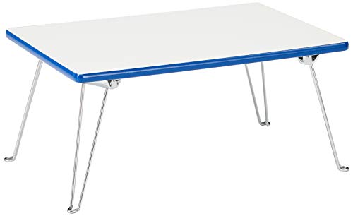 ORE International N1563-WH Low Profile Folding Table