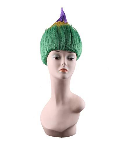 (Poppy Trolls Wig Synthetic Hair Party Halloween Costume Cosplay Wig Women (Mardi)