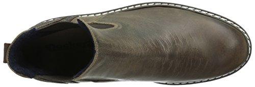 Dockers by Gerli Herren 39pe004-102360 Chelsea Boots Braun (schoko 360)