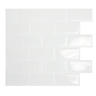Smart Tiles SM1020-0 Mosaik Self Adhesive High-Gloss Mosaic in ()