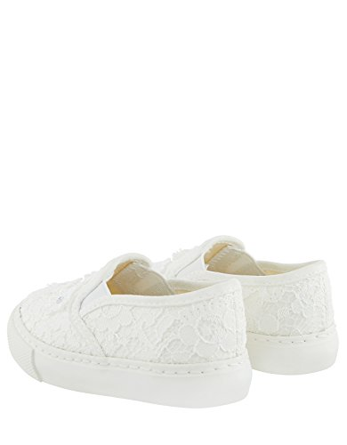 Accessorize Lace Flower Girl Slip On Pumps - Womens - US 5 Shoe SGzCGxUd