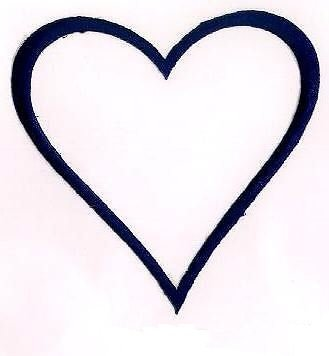 Appliques Love Navy Blue Heart Embroidery Applique Patch Iron on Sewing Craft Fabric Sewn on Decorative Logo Patches 4.25