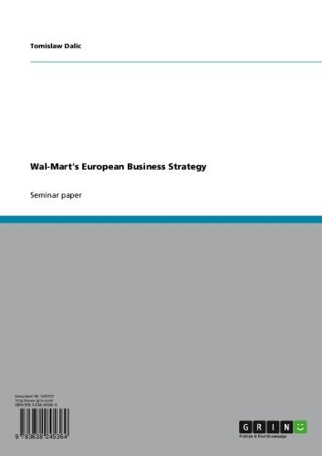 Amazon com: Wal-Mart's European Business Strategy eBook