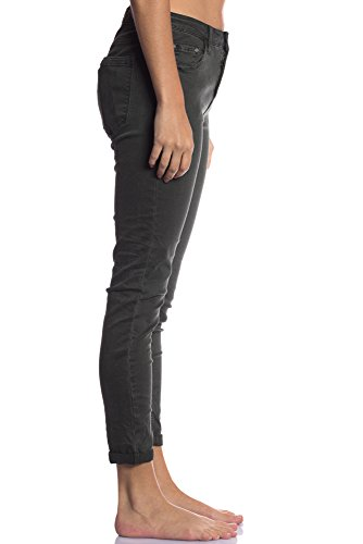 Fille Hiver Confortable Vert Automne Fashion Des Jeans Moderne Elegante Transition 36 Khaki Gris Jean Charme 3D avec Abbino 6109 Poches Vente Couleurs 7 Femme Dynamique Casual Dlicat Jeune XS vqpnB0wZc