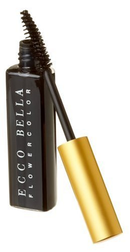 Ecco Bella All Natural Black FlowerColor Mascara .38 ounce - Perfect For Sensitive Eyes And Skin - Vegan, Gluten Free, Fragrance Free, Paraben Free.