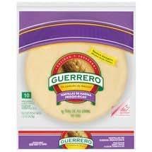 Guerrero Uncooked Flour Tortilla 10ct (2 packages): Amazon