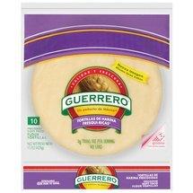 Guerrero Uncooked Flour Tortilla 10ct (2 packages)