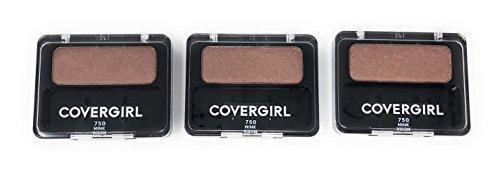 CoverGirl Eye Enhancers 1 Kit Eye Shadow, Mink [750] 0.09 oz (Pack of 3) by COVERGIRL
