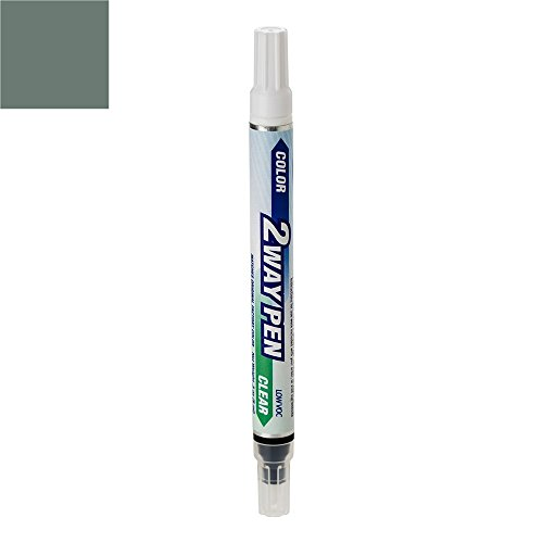 ExpressPaint 2WayPen - Automotive Touch-up Paint for BMW 3 - Sparkling Graphite Metallic Clearcoat A22 - Basic Package