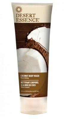 Desert Essence Body Wash Coconut (Pack of 2), 8 oz -  52604