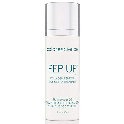 (Colorescience Pep Up Collagen Renewal Face & Neck Treatment : Promotes Collagen and Elastin Production, 10 Peptides to Defend Against Signs of Aging)