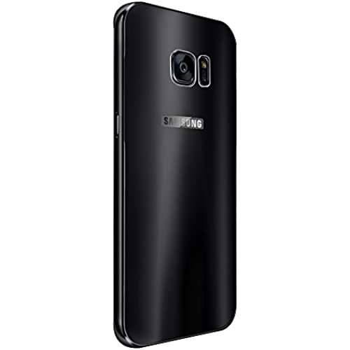 Kepuch Slim Ultra-thin Aluminum Metal Hard Bumper Frame with Plating Back Panel Cover Case for Samsung Galaxy S7 Edge - Black Sales