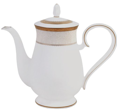 Noritake Odessa Teapot, Gold