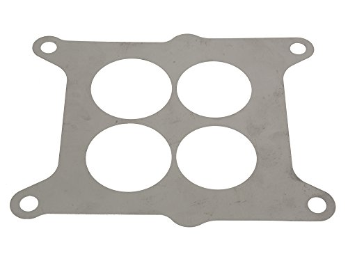 1962-1965 Corvette Carburetor Baffle Plate 300 HP Stainless Steel