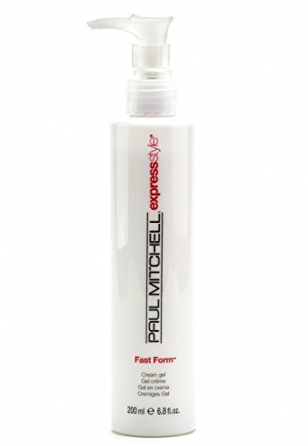 Paul Mitchell Fast Form Cream Gel Unisex, 6.8 Ounce