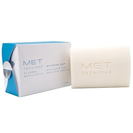 Met Tathione Whitening Soap With Glutathione and Alpha-Arbutin - 100g- SKin Whitening Soap