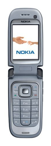 Nokia 6267 Unlocked Cell Phone with 2 MP Camera, 3G, Media Player, MicroSD Slot (Black) (Renewed)