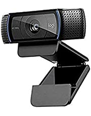 Logitech, C920 HD Pro Webcam for AMZ, Full HD 1080p Video Calling and Recording, Dual Stereo Audio, Stream Gaming, Two Microphones, Small, Agile, Adjustable, Black