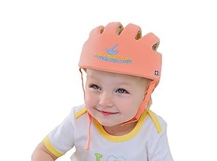 Ibepro - Casco de seguridad para bebés y niños con protección para la cabeza, para