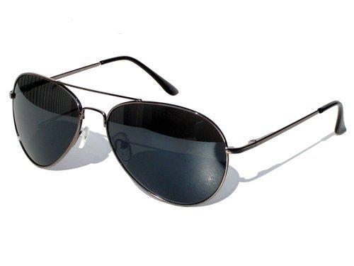 Tedd Haze Federscharnier-Pilotenbrille mit Brillen Beutel