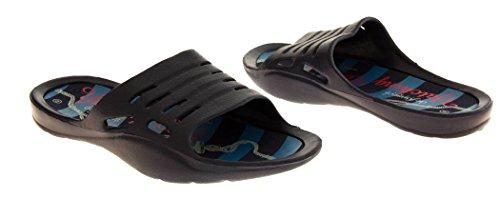 De Fonseca Hombre sandalias de playa del verano Azul