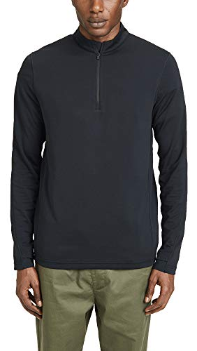 - Reigning Champ Men's Trail Power Dry Shirt, Black, Large