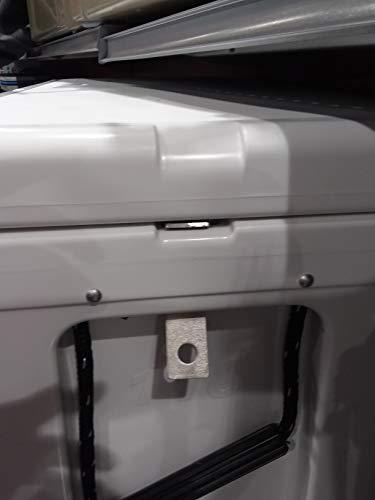 CodyCo Aluminum Security Lock Bracket Made to Fit Yeti Tundra Cooler