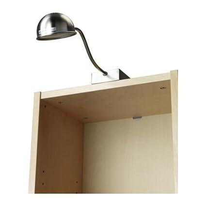 IKEA FORMAT - Cabinet lighting, nickel-plated: Amazon co uk